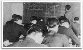 男子部「山の学校」 数学(深井英一先生)の授業